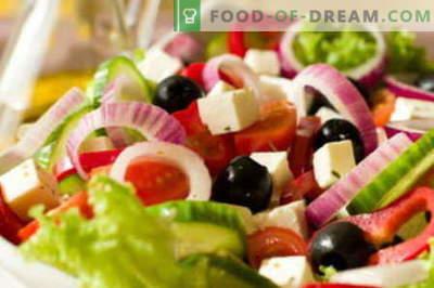 Juustu salatid - parimad retseptid. Kuidas õigesti ja maitsev valmistada juustuga salat.