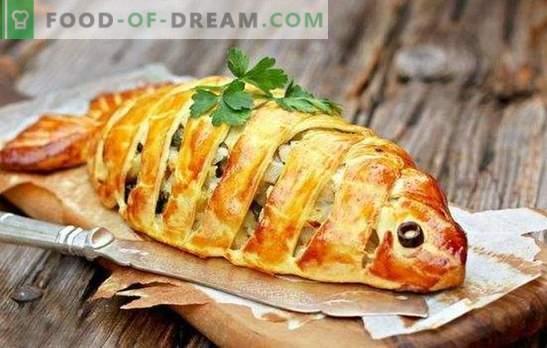 Greitas žuvų pyragas - rasti užimtas namų šeimininkes! Greito žuvies pyragaičių kepimas kefyre, majonezu, grietine, padažu