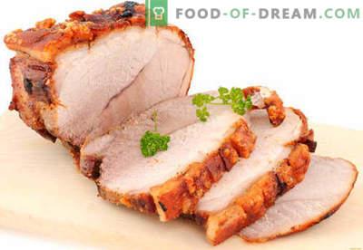 Kiaulienos kumpis - geriausi receptai. Kaip tinkamai ir skaniai virti kiaulienos kumpį namuose.