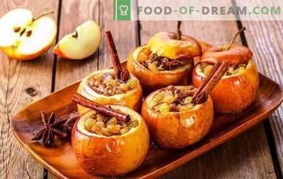 Печете ябълки с мед и канела във фурната - за радост! Печени ябълки с мед и канела в домашно приготвени сладкиши