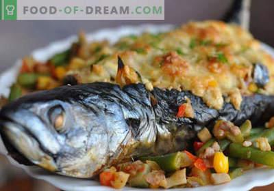 Skumbrė su daržovėmis - geriausi receptai. Kaip tinkamai ir skaniai virti skumbres su daržovėmis.
