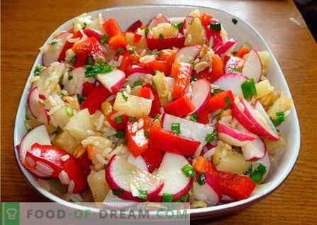 Ориенталска салата - най-добрите рецепти. Как правилно и вкусно да се готви ориенталска салата.