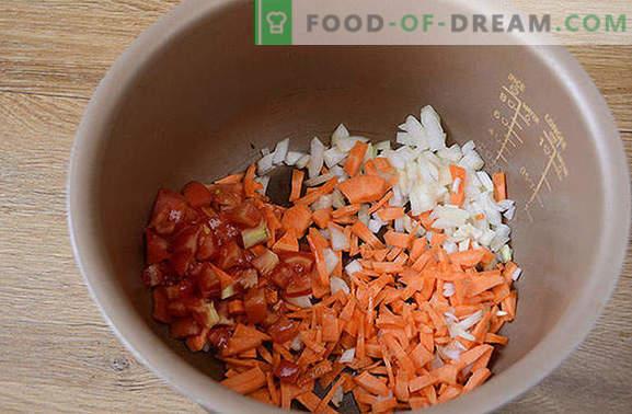 Sriuba su šviežiais kopūstais lėtoje viryklėje: greitai, lengvai, skaniai! Autoriaus žingsnis po žingsnio foto-receptas gaminant kopūstus iš šviežių kopūstų lėtoje viryklėje