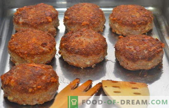 Malti mėsos kotletai orkaitėje - visada sėkmingi! Smulkintos mėsos padažų receptai krosnyje: su kiauliena, jautiena ir paukštiena