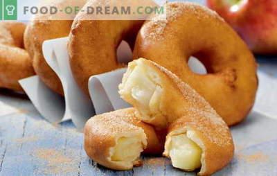 Virtuvės namuose - išsipūtę žiedai! Naminių spurgų receptai su mielėmis, kefyru, varškės sūriu, kondensuotu pienu ir įdaryti
