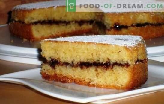 Pyragas su uogiene orkaitėje - paprastas ir skanus! Tešlos ir užpildų užkandžių su uogiene krosnelėje variantai