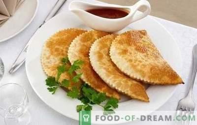 Traškūs pyragaičiai: žingsnis po žingsnio pildymo ir tešlos receptai. Virimas namuose sultingi, kvapni ir traškūs pyragaičiai su nuosekliais receptais