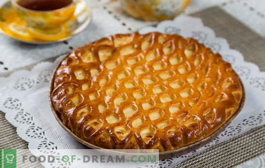 Tortas su varškė skubėti - naudinga tešla be vargo. Kaip virėjas skanus pyragas su varškės skubu