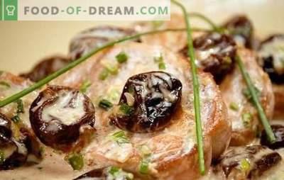 Kiauliena su slyvomis - geriausias mėsos ir vaisių derinys. Skanus kiaulienos kepimas su slyvomis: troškinta, kepta, kepti