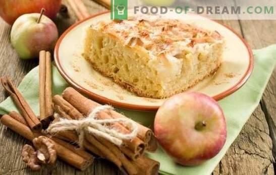 Šarlotas su obuoliais ir cinamonu yra mėgstamas pyragas nauju būdu. Kaip virti charlotte su obuoliais ir cinamonu: naujos idėjos