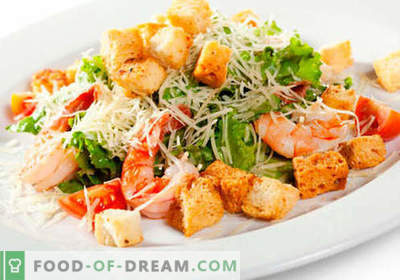 Salotos vakarienei - geriausi kulinariniai receptai. Kaip tinkamai ir skaniai salotoms gaminti vakarienę.