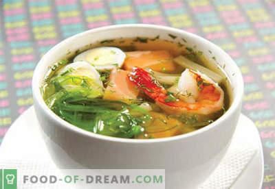 Miso sriuba - patvirtinti receptai. Kaip virėjas ir miso sriuba.