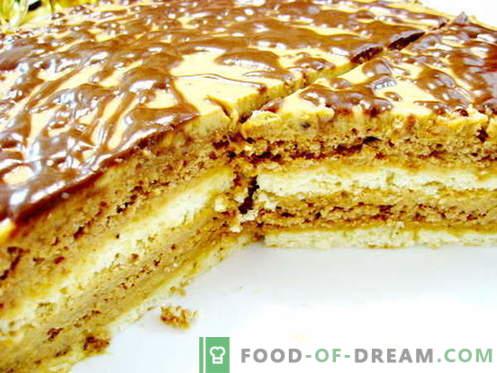 Zebra pyragas - geriausi receptai. Kaip tinkamai ir skaniai virti zebro pyragą.