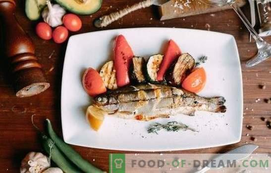 Kepta upėtakis - nuostabios žuvys! Geriausi marinatai su citrina, vynu, sojos padažu, pankoliais, apelsinų apvalintais upėtakiais