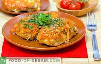 Marinuotos žuvys yra klasikinis receptas, paprastas ir įperkamas. Pekino, jūrų lydekos ir menkės - klasikinės žuvys pagal marinatą