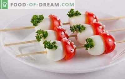 Kiaušinių užkandžiai - originalūs, skanūs, įperkami. Geriausių kiaušinių receptų pasirinkimas kiekvienai dienai ir kiekvienai progai