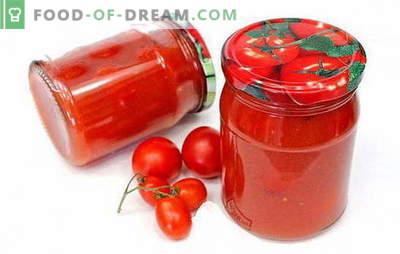 Pomidorai pomidorų pasta - įdomūs receptai įdomiam paruošimui. Kaip gaminti skanius pomidorus pomidorų pasta