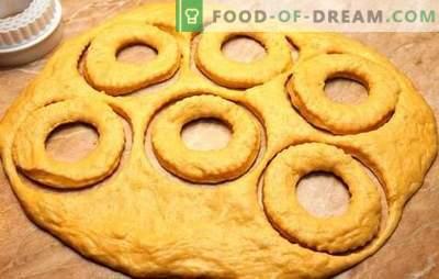 La pâte à beignets est responsable du goût! Recettes de différentes pâtes pour beignets au lait, kéfir, fromage cottage, à l'eau