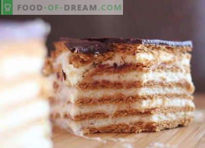 Sausainių pyragai yra geriausi receptai. Kaip tinkamai ir skaniai padaryti pyragą iš slapukus.