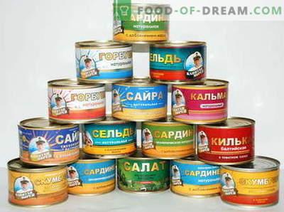 Konservuoti žuvų sriuba - geriausi receptai. Kaip tinkamai ir skaniai virti sriubos iš konservuotų žuvų.