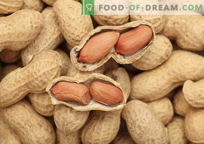 Peanuts - description, properties, use in cooking. Recipes with peanuts.