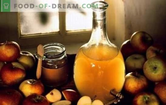 Obuolių sidro actas: virimas namuose. Kodėl geriau gaminti obuolių sidro actą namuose