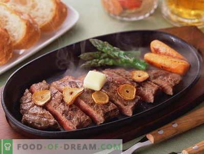 Kepta mėsa - geriausi receptai. Kaip tinkamai ir skaniai virti skrudintą mėsą.