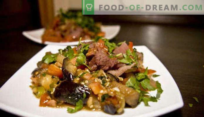 Ką virėjas baklažanas greitai ir skaniai, receptus su nuotraukomis, keptuvėje, orkaitėje, žiemai