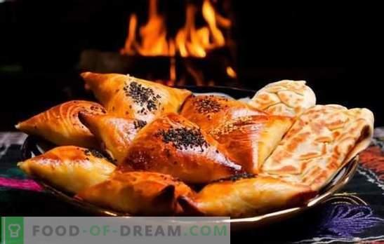Samsa - žingsniai po žingsnio receptai skaniems mėsos trikampiams. Tradicinių ir puff samsa ruošimas namuose su nuosekliais receptais
