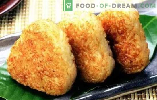 Ryžių krapai - neįprastas ir ekonomiškas! Saldžių ir sūrių ryžių trupinių receptai su mėsa, razinomis, grybais, saldintiems vaisiams, varške