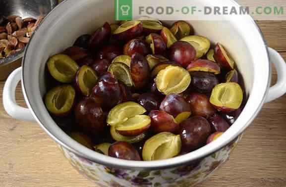 Slyvų uogienė - lengviausias ir skaniausias! Laipsniškas foto receptas Vengrijos uogienei gaminti