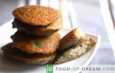 Naminiai blynų vakarienė su smulkinta mėsa - greičiau nei manote. Rudieji blynai su malta mėsa, sūriu ir daržovėmis