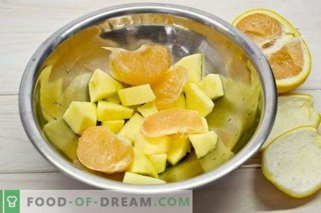 Vaisių spanguolių kokteilis - vitamino kokteilis
