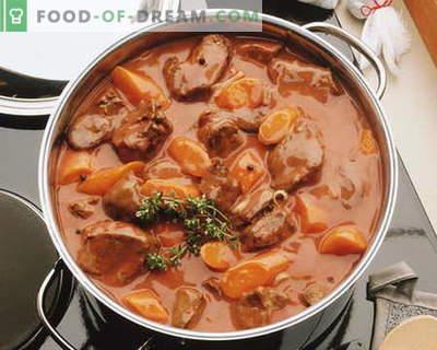 Troškinta mėsa - geriausi receptai. Kaip tinkamai ir skaniai virti troškinys.