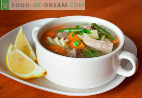 Turkey Soup - Proven Recipes. How to properly and tasty cook turkey soup.
