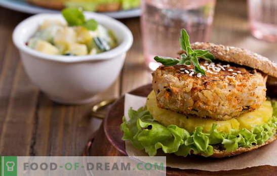 Pupelių kotletai - be mėsos ir nereikia! Įvairių pupelių su daržovėmis, grūdais, vištiena, dešra receptai