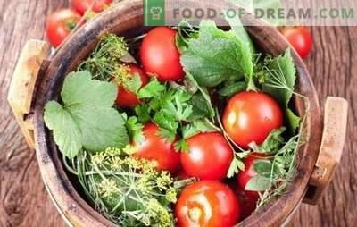Pomidorų sūdymas žiemą: receptai ruošiami iš sveikų ir supjaustytų pomidorų. Atskleisti sėkmingų sūdymo pomidorų paslaptis žiemai