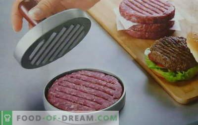 Burgerai hamburgeriams - Kanados ir Havajų receptai. Sultingi ir traškūs mėsainių skiltelės, receptai negali būti skaičiuojami