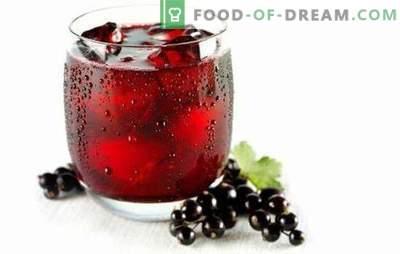 Serbentų sultys - visa vitaminų armija! Įvairių raudonųjų ir juodųjų serbentų sultys