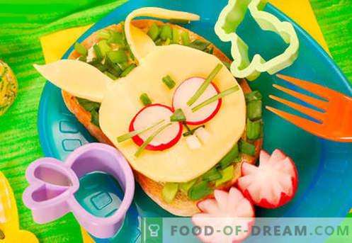 Vaikų sumuštiniai yra geriausi receptai. Kaip greitai ir skaniai virti vaikų sumuštinius.