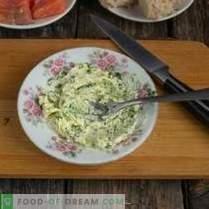 Kanapė su lašiša šventiniam stalo valgymui