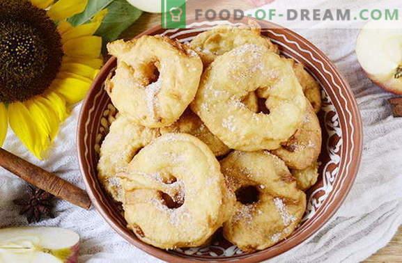 Skanūs obuolių spurgos per 20 minučių. Originalus delikatesas vaikams ir suaugusiems