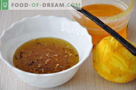 Medaus padažas - geriausi receptai. Kaip tinkamai ir skaniai virti medaus padažą.