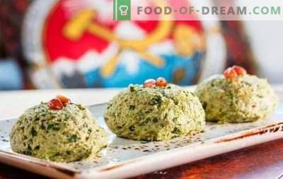 Georgian appetizers - a world of wonderful flavors! Recipes of traditional Georgian snacks from spinach, cabbage, eggplants
