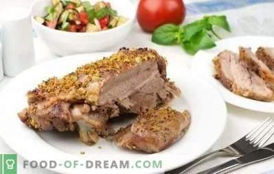 Turkijos kepsnys orkaitėje - gero gabalo! Kalakutienos kepsnių receptai skirtingose marinatuose, su daržovėmis, padažais