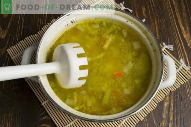 Konservuotos pupelių kremo sriuba