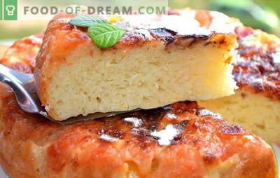 Pyragas lėtoje viryklėje: šviežios idėjos. Geriausi saldaus, sūrio, mėsos, vištienos pyrago receptai lėtoje viryklėje