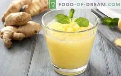 Apie imbiero uogienę: slavų desertas su egzotiškų elementų legenda ir technologija. Kaip padaryti, kad uogienė iš apelsinų ir imbiero - skanus vaistas iš bet kokių vaisių