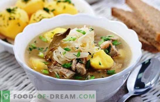 Sriuba lėtos viryklės sriuboje, pavyzdžiui, iš Rusijos krosnies. Geriausi virimo sriubos receptai ir ypatybės daugiakanalėje
