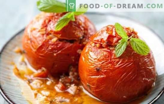 Pomidorai su sūriu lėtoje viryklėje - nepažeidžia dietos. Lengvi pomidorų patiekalai su sūriu lėtoje viryklėje